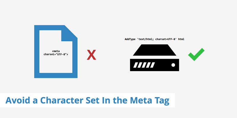 آموزش gtmetrix - avoid-a-character-set-in-the-meta-tag