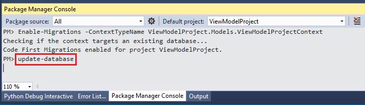 آپدیت کردن دیتابیس در ASP.NET MVC
