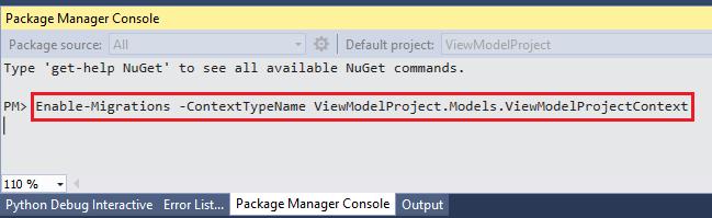 ASP.NET MVC - فعال کردن Migrations