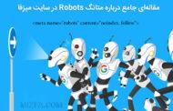 همه چی درباره متاتگ robots