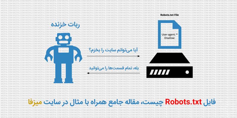 Photo of فایل robots.txt و نحوه ساخت آن