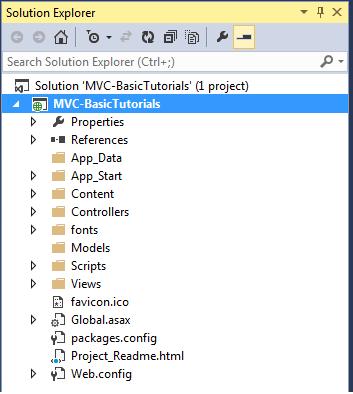 mvc folder structure