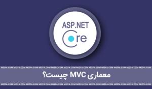 معماری mvc در asp.net core چیست؟