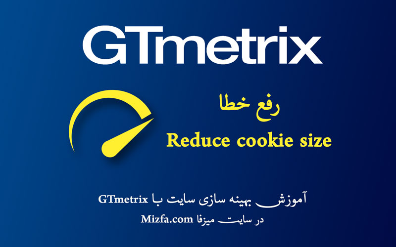 رفع خطای Reduce cookie size