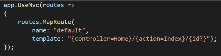 تنظیمات routing در asp.net core 2.0