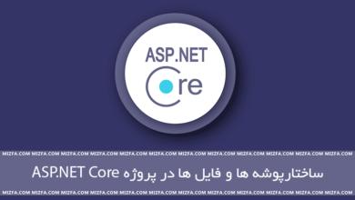 Photo of ساختار پوشه ها در پروژه های ASP.NET Core MVC