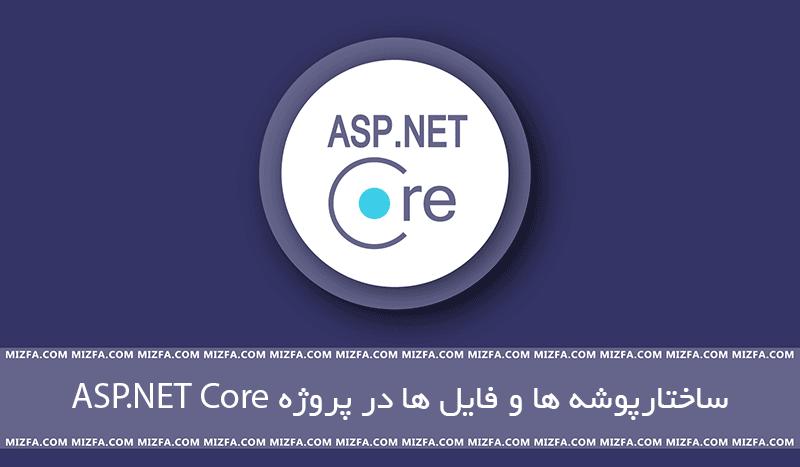 ساختار پوشه و فایل ها در ASP.NET Core