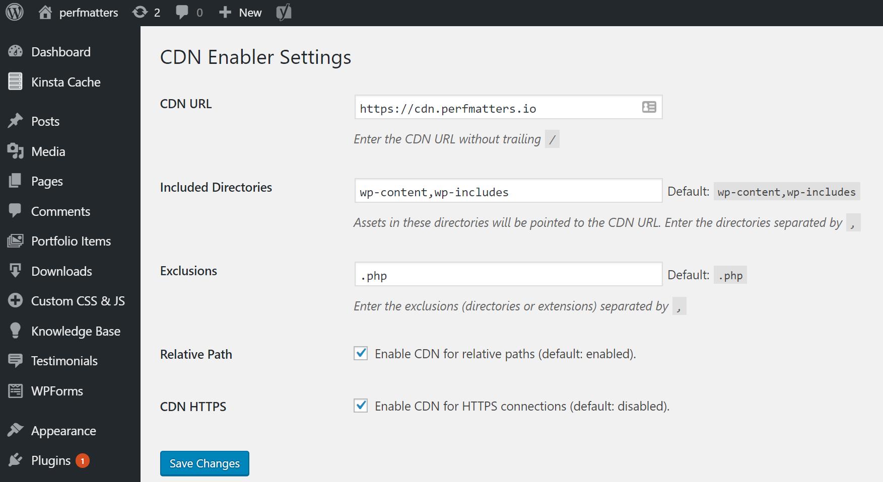 ادغام CDN با وردپرس با افزونه CDN Enabler