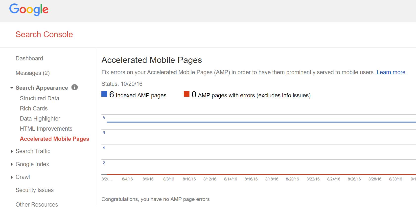 مشکلات AMP در GCM
