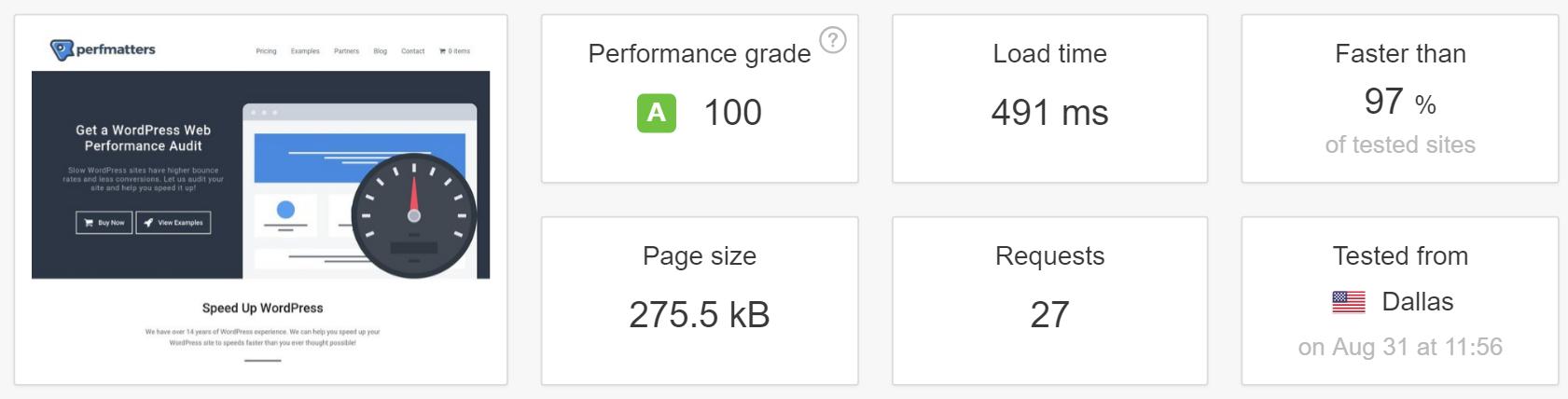 آزمایش دوباره وب سایت توسط Pingdom (عملیات کش)