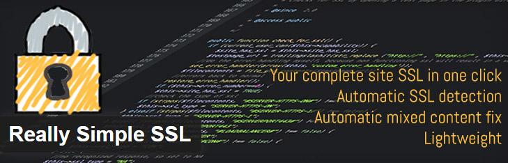 افزونه Really Simple SSL plugin