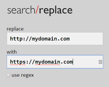 تغییر لینکگذاریهای سخت بر مبنای قرارداد HTTP به HTTPS
