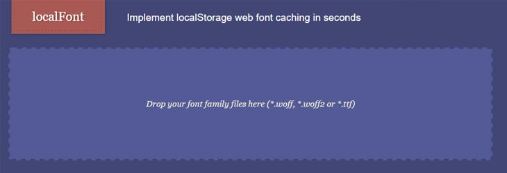 ابزار LocalStorage یا LocalFont