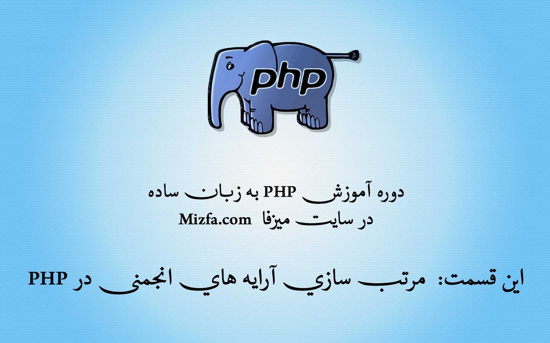 Photo of مرتب سازی آرایه های انجمنی در php