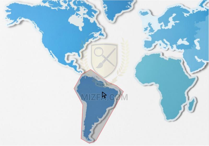 بخش مورد نظر در تصویر برای image map