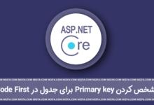 Photo of مشخص کردن Primary key برای جداول در Code First