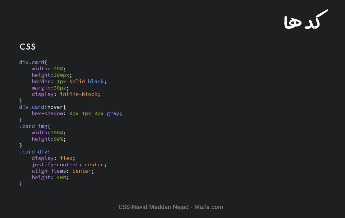 کد CSS گالری