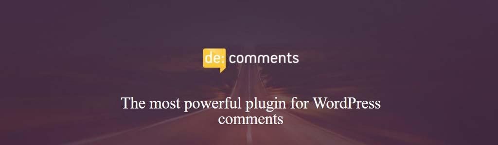 DE COMMNETS یکی از بهترین افزونه های نظر در وردپرس