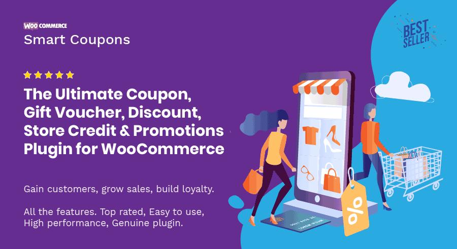 بهترین افزونه فروشگاهی وردپرس woocommerce smart coupons