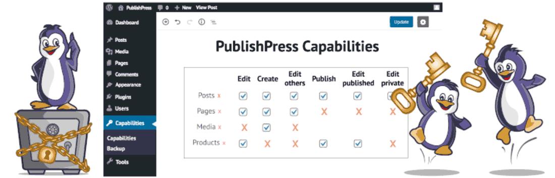 یکی از بهترین افزونه های سطح دسترسی در وردپرس PublishPress Capabilities