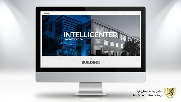 طراحی وب سایت شرکت بازرگانی