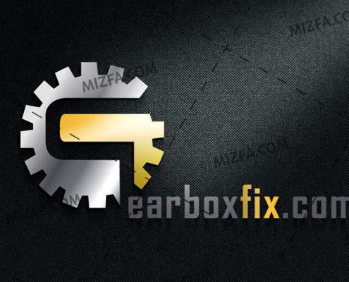 طراحی لوگو تعمیرگاه گیربکس ماشین