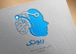 طراحی لوگو ربوتک