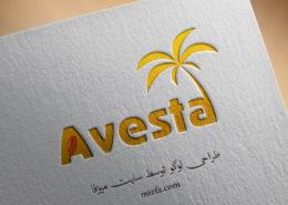 طراحی لوگو Avesta